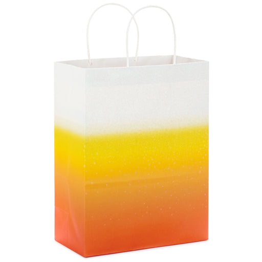 "13"" Ombré Candy Corn Halloween Gift Bag"