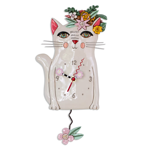 Pretty Kitty Clock