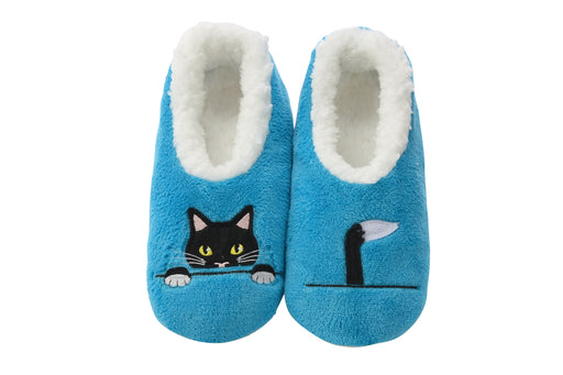Peekaboo Cat Snoozies! Slippers