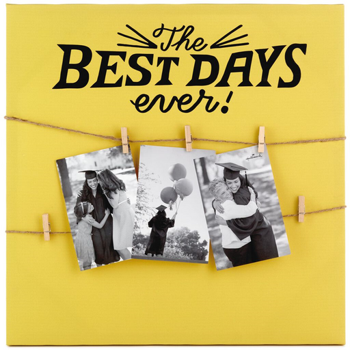 Best Days Ever Photo Holder Canvas Sign