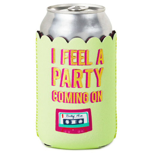 Party Coming On Mixtape Can Cooler