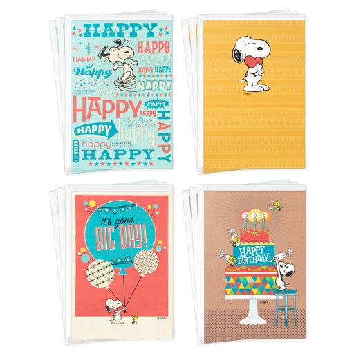 Peanuts Birthday Card Assortment