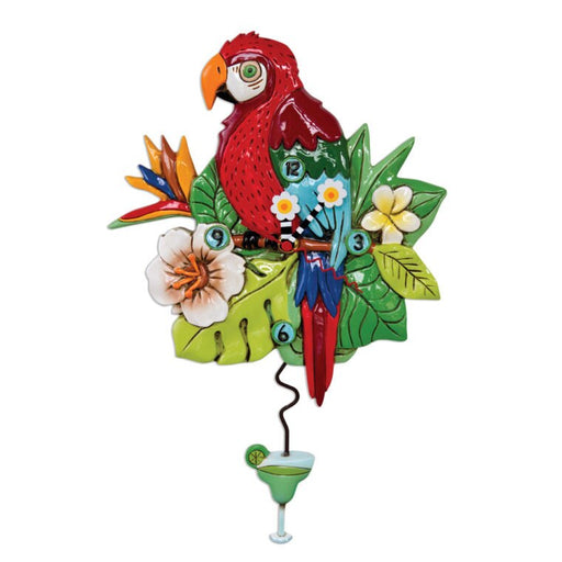 Polly Parrot Clock