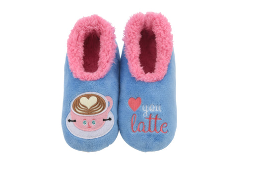 Love You Latte Snoozies! Slippers