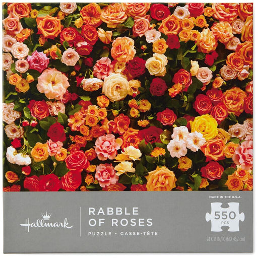 Rabble of Roses 550 Piece Puzzle