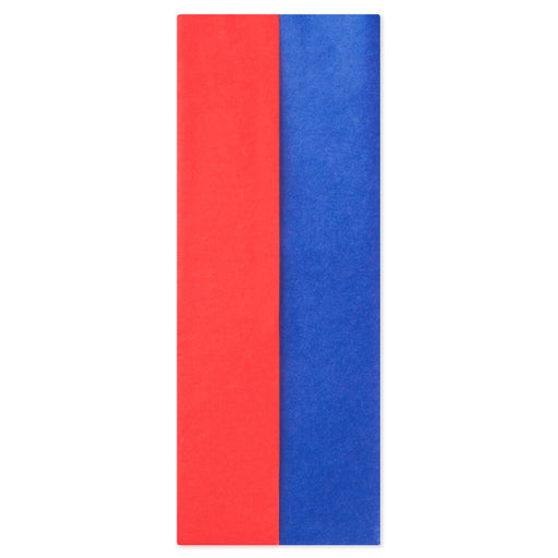 Red and Blue 2-Pack Tissue Paper