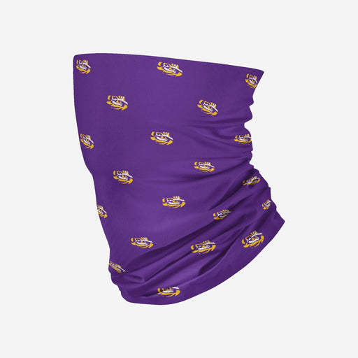 LSU Tigers Mini Print Gaiter Scarf and Face Mask