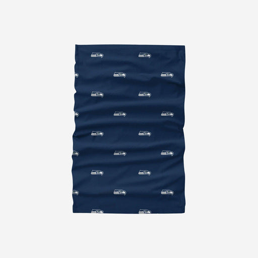 Seattle Seahawks Mini Print Gaiter Scarf and Face Mask