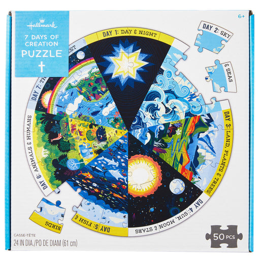7 Days of Creation 50-Piece Puzzle