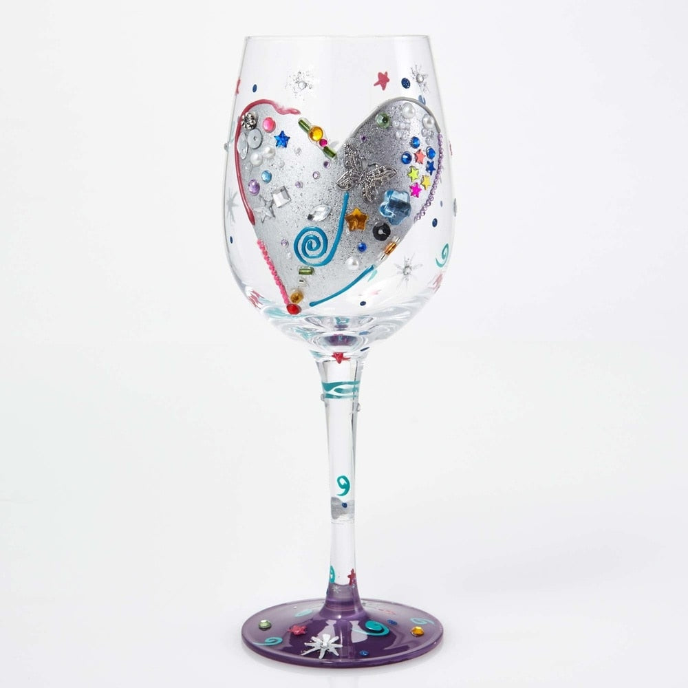Silver Lining Lolita Wine Glass