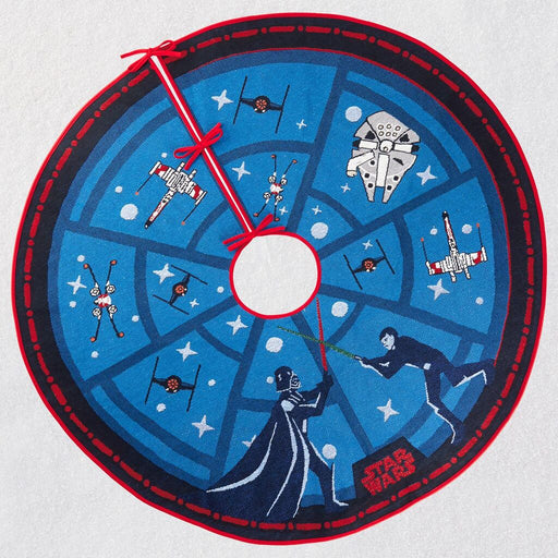 Star Wars™ The Force Is Strong Tree Skirt With Light