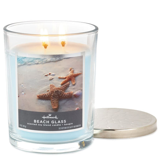 16oz Beach Glass 3-Wick Jar Candle