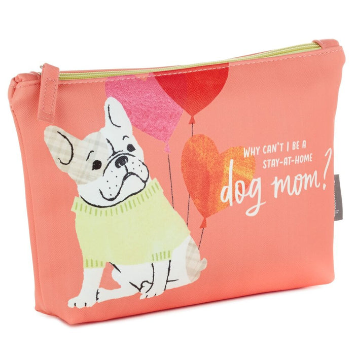 Dog Mom Zippered Pouch