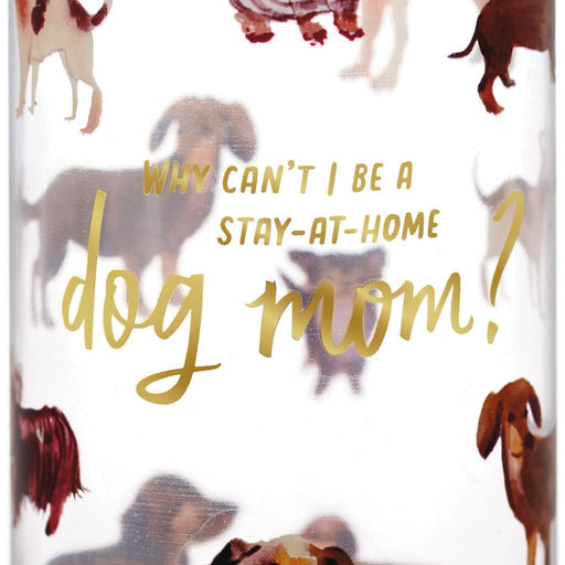 Dog Mom Plastic Water Bottle