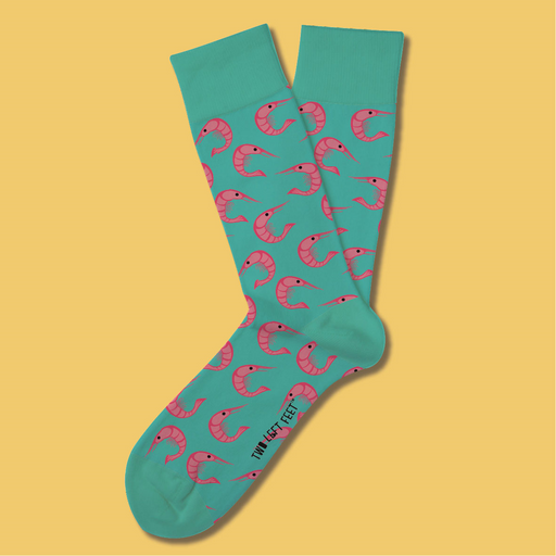 Adult Shrimp Cocktail Socks