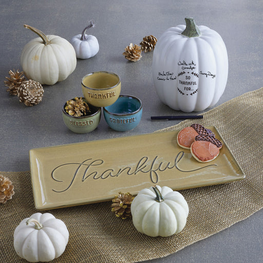 Thankful Autograph Pumpkin