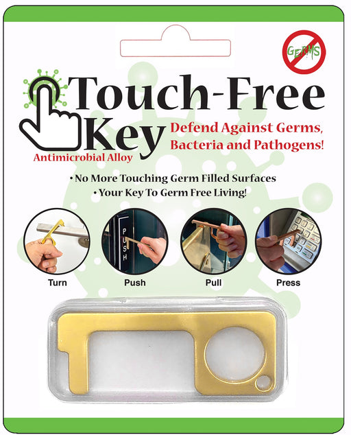 Touch Free Key Hand Tool