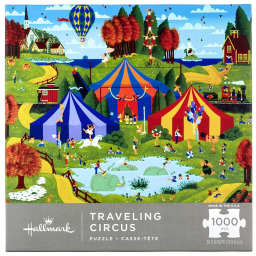 Traveling Circus 1000 Piece Puzzle