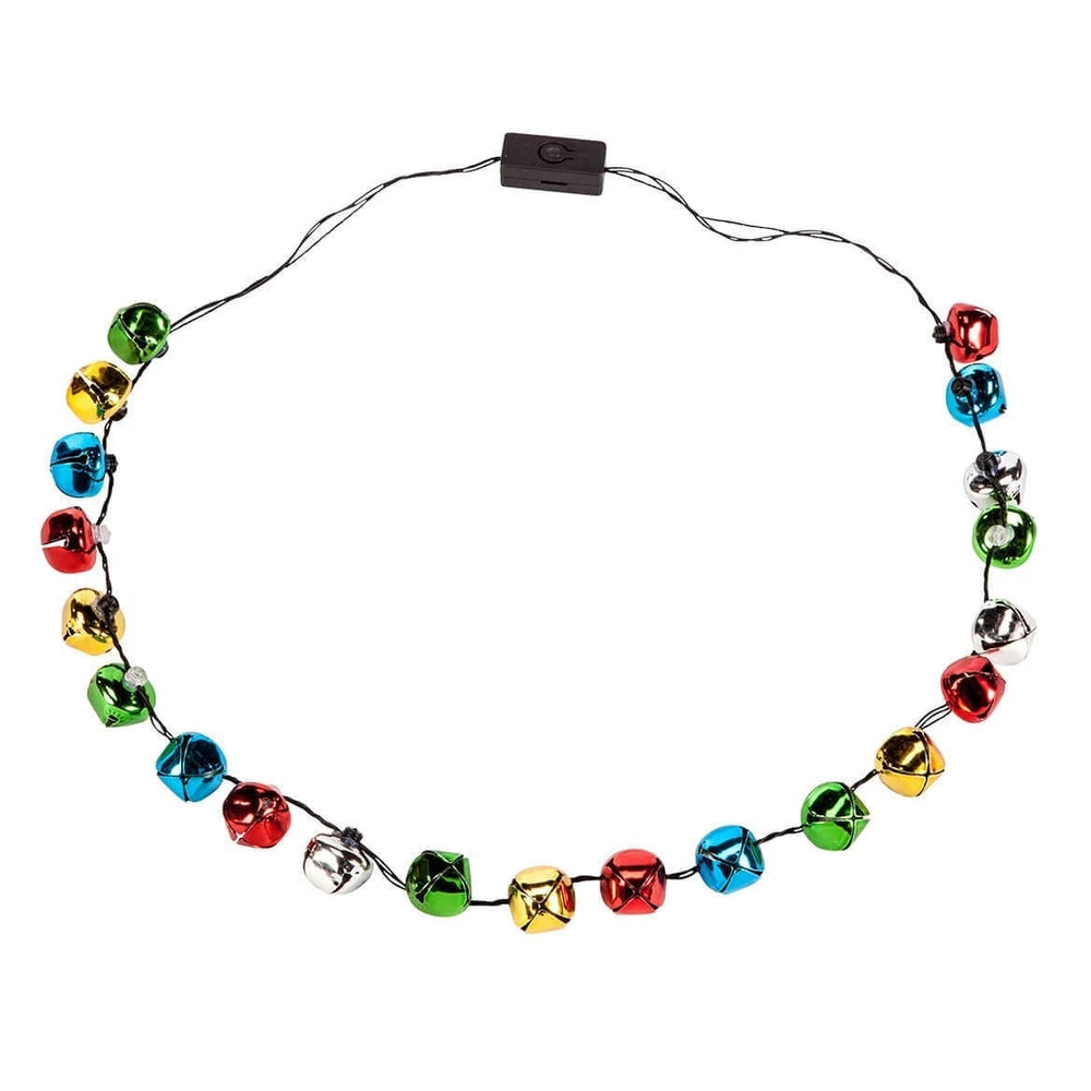 Jingle Bell Flashing Necklace