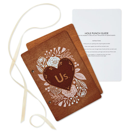 Us Heart Wedding Card Keeper