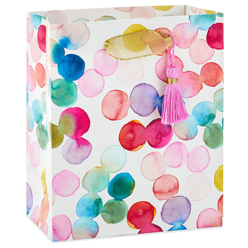 Watercolor Dots Small Gift Bag