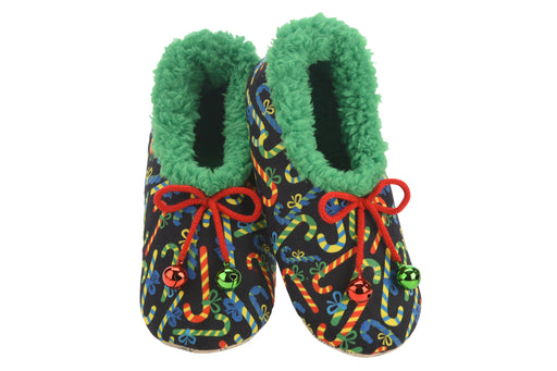 Ugly Christmas Candy Canes Snoozies! Slippers