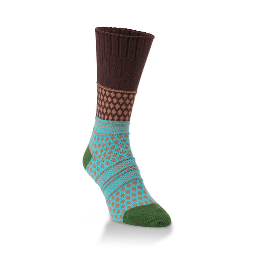 Tiger Eye Gallery Textured Crew Socks