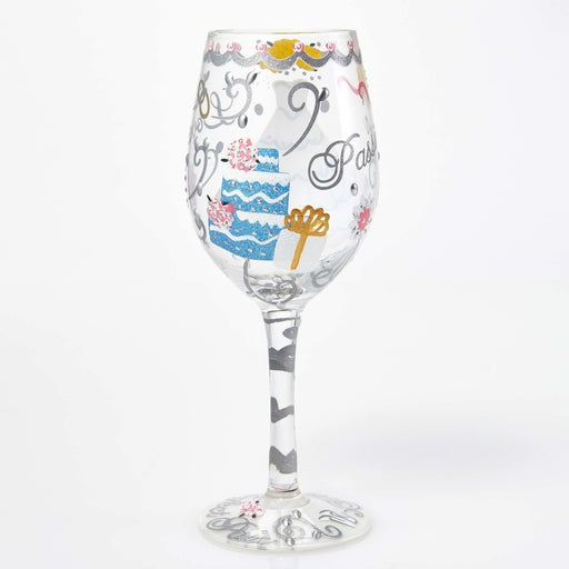 Wedding Dress Lolita Wine Glass