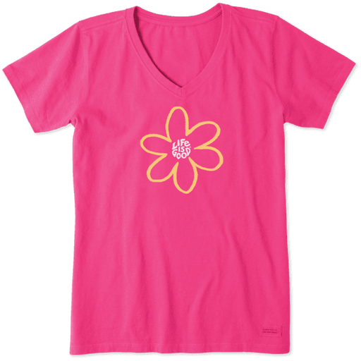Simple Daisy Women's Crusher Tee