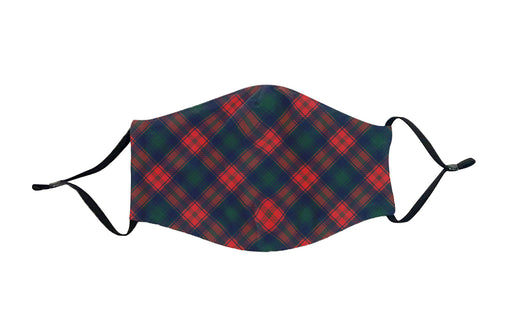 Christmas Plaid Face Mask