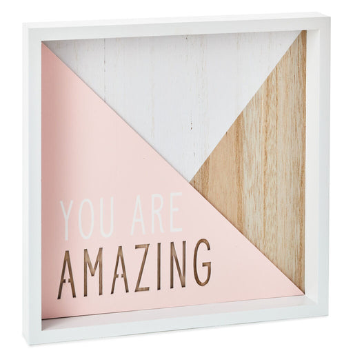 You Are Amazing Framed Sign