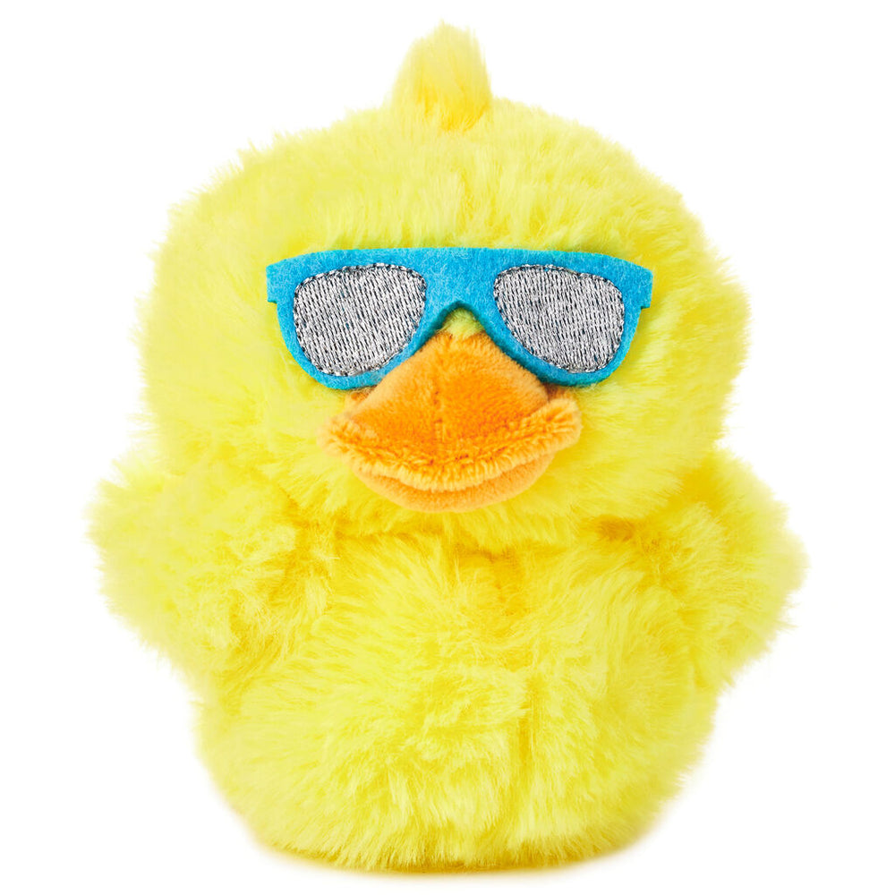 Zip-Along Duck With Sunglasses