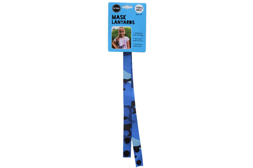 Pattern Teen & Adult Mask Fashion Lanyards With Safety Breakaway Clip