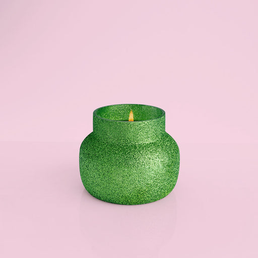 Alpine Juniper Glam Green Glitter Signature Jar