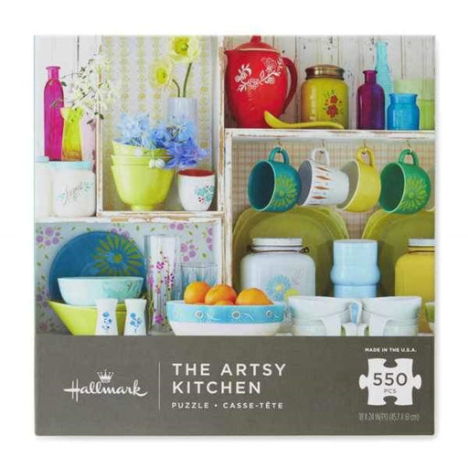 The Artsy Kitchen - 550 Pieces Puzzle