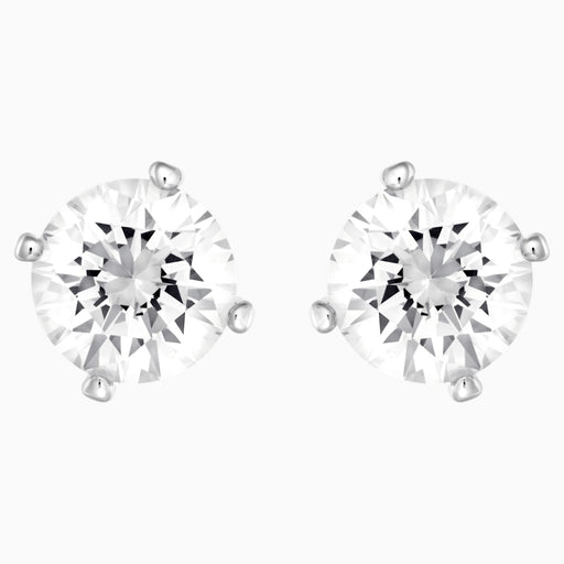 Swarovski Attract Two Sided Pierced Earrings in Pearl and Diamond White