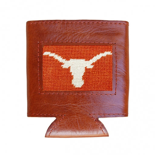 Texas Needlepoint Can Cooler