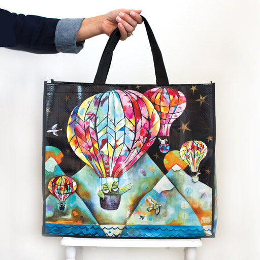 Hot Air Balloon Shopper Bag