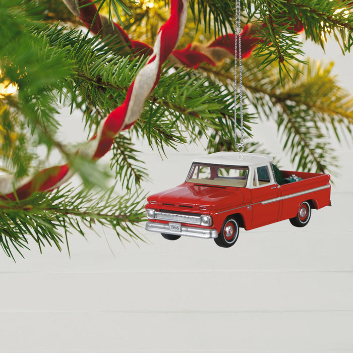 1966 Chevrolet® C-10 Pickup All-American Trucks 2020 Metal Ornament