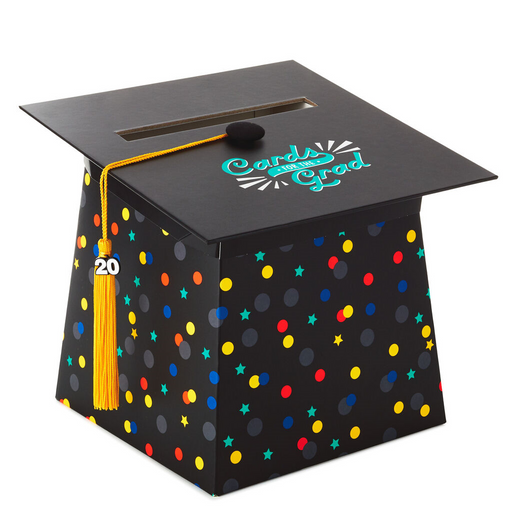 2020 Graduation Cap Card Box