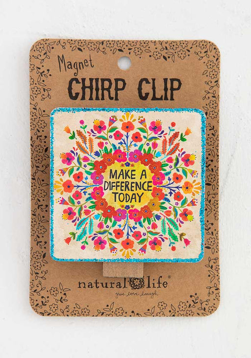 Make A Difference Chirp Magnetic Clip