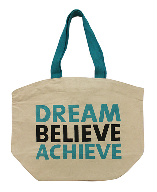 Dream Believe Achieve Tote