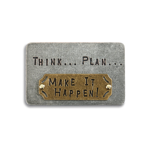Think Plan Make It Happen Inspire Card