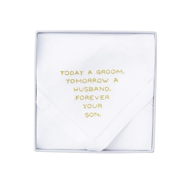 Forever Your Son Handkerchief