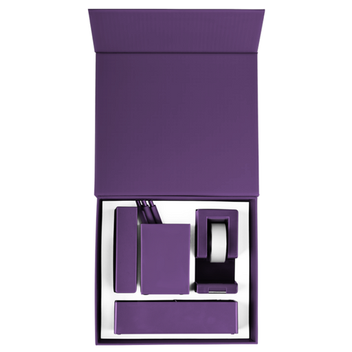 Purple Desk Set