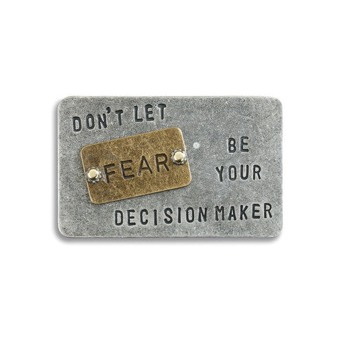Don't Let Fear Inspire Card