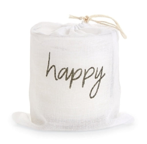 Happy Bagged Candle