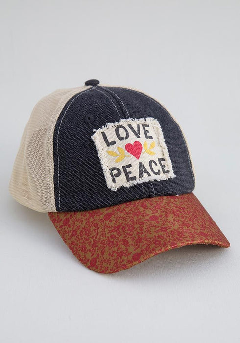 Love Peace Hangout Hat
