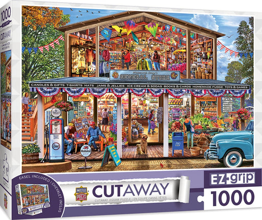 Hometown Market 1000 Piece Jigsaw Puzzle