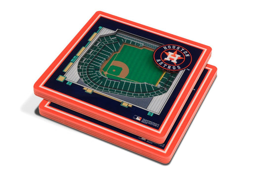 Houston Astros 3D Stadium Coaster Set